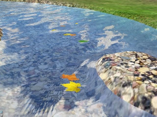 flowing river cartoon - photo #42