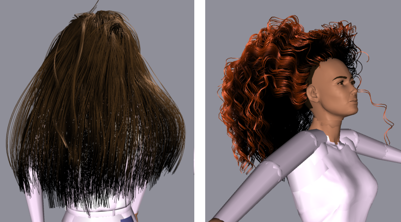 A Practical Self-Shadowing Algorithm for Interactive Hair ...